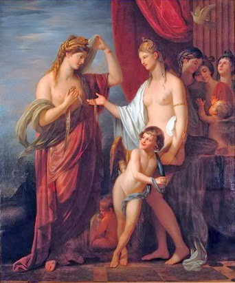 Juno Receiving the Cestus from Venus Benjamin West