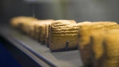 Εκατό δέλτοι σε μέγεθος παλάμης με βιβλικές ιστορίες 2.500 ετών